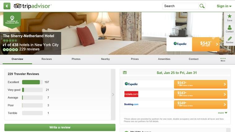 TripAdvisor Hotels Flights Restaurants screen shot 3