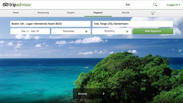 TripAdvisor Hotels Flights Restaurants-skärmbild 7