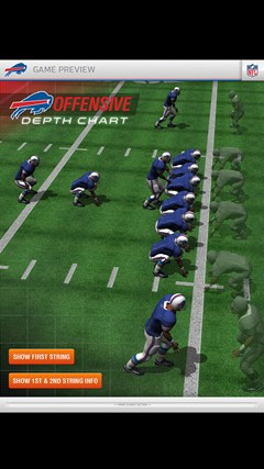 Buffalo Bills Touch screen shot 1