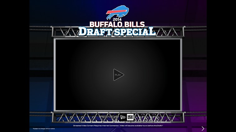Buffalo Bills Touch screen shot 5