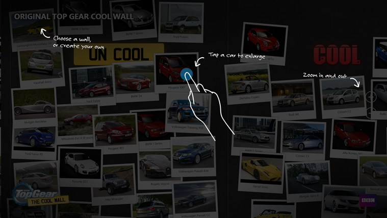 Top Gear Cool Wall screen shot 3