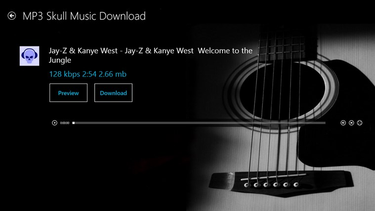 Mp3 Skull Music Download FREE screen shot 7