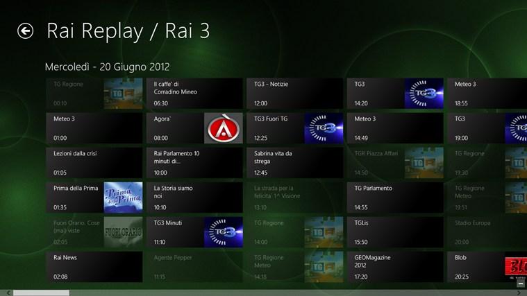 Rai.tv cattura di schermata 5