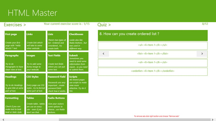 HTML Master screen shot 3