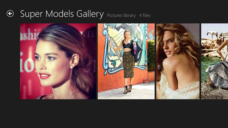 Super Models Gallery screen shot 5