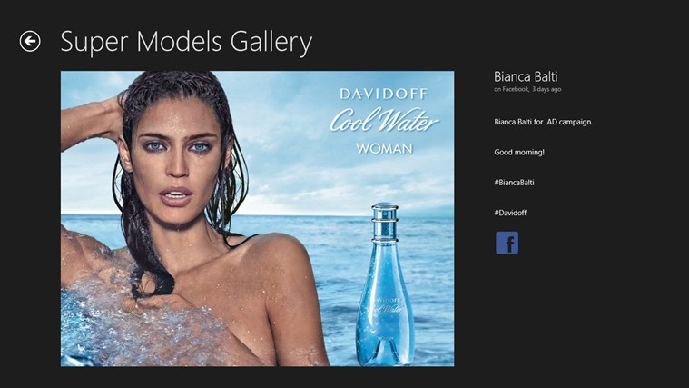 Super Models Gallery screen shot 7