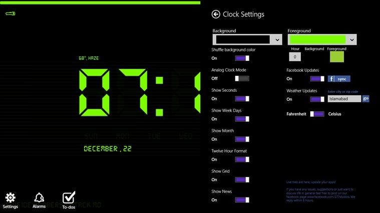 Digital Nightstand screen shot 3