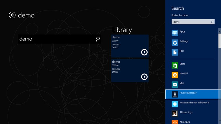 Pocket Recorder screen shot 7