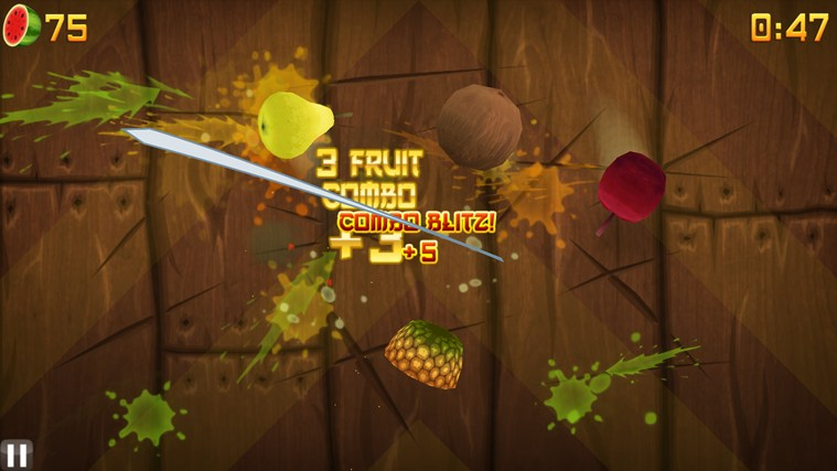 Fruit Ninja captura de pantalla 1