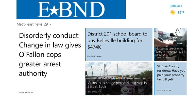 Belleville News-Democrat screen shot 1