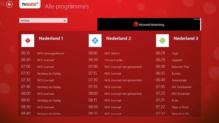 TVGids.nl schermafbeelding 3