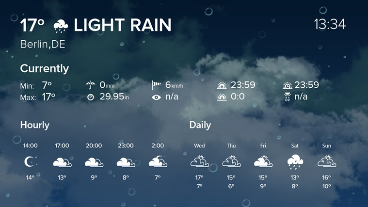 WeatherFlow screen shot 3