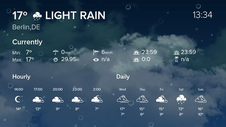 WeatherFlow screen shot 3