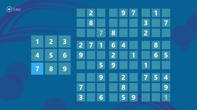 Magnificent Sudoku screen shot 1