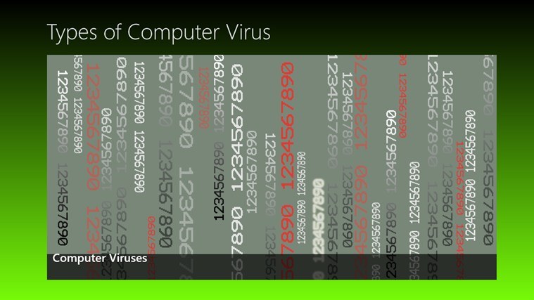 Computer Viruses screen shot 1