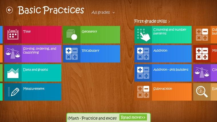 iMath screen shot 1
