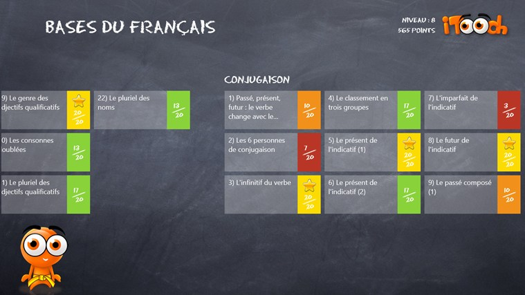 Les Bases du Français screen shot 1