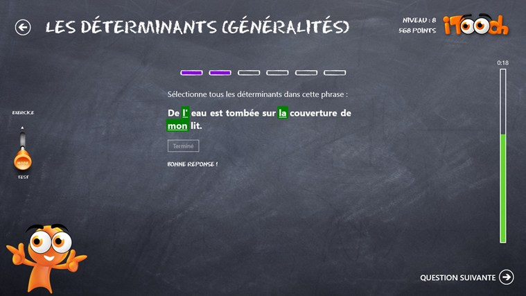 Les Bases du Français screen shot 3