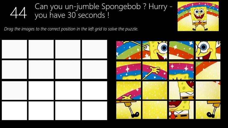 Spongebob Squarepants for Win8 UI  full