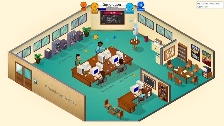 Game Dev Tycoon screen shot 3