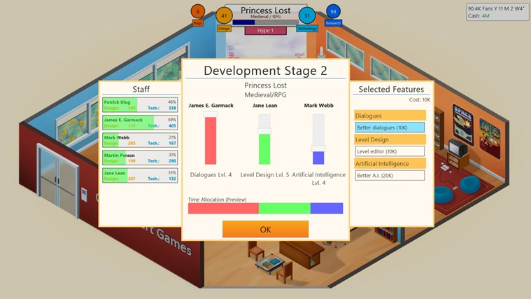 Game Dev Tycoon screen shot 5