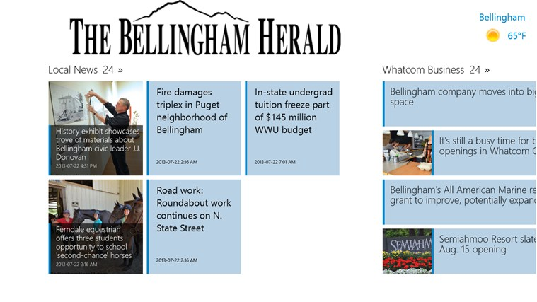 The Bellingham Herald screen shot 1