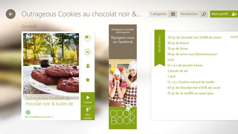 SO COOKBOOK capture d'écran 3