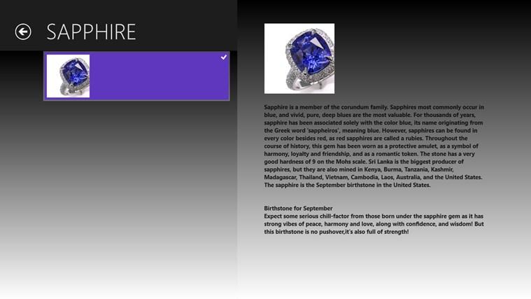 Precious Gemstones screen shot 3