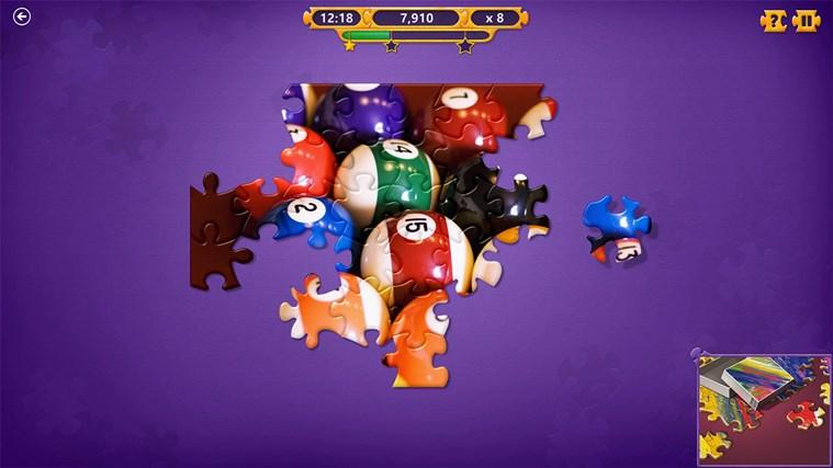 Microsoft Jigsaw screen shot 1