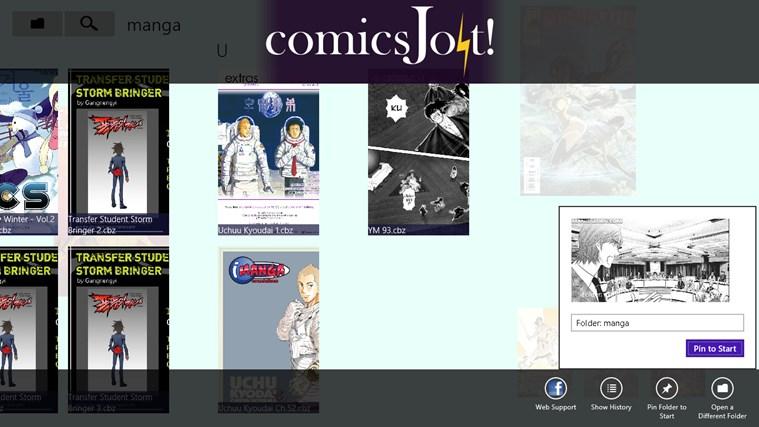 comics Jolt! screen shot 3