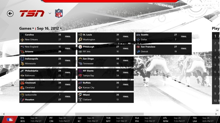 TSN screen shot 3
