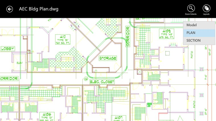 AutoCAD 360 screen shot 3