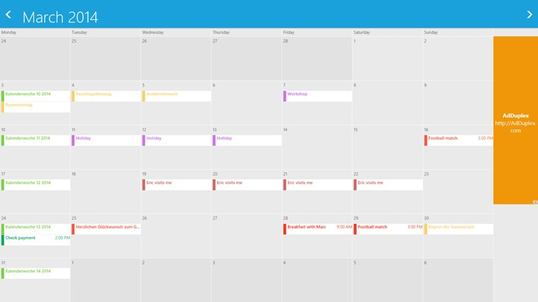 gmail calendar screen shot 1