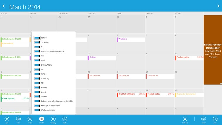 gmail calendar screen shot 5