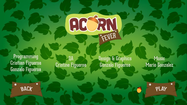 Acorn Fever screen shot 3