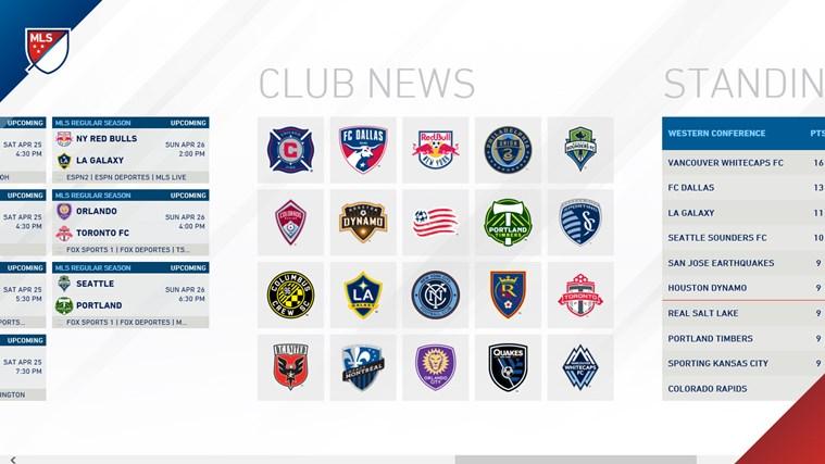 MLS MatchDay screen shot 3