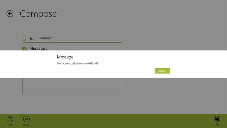 Free SMS screen shot 5