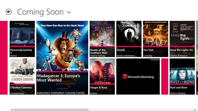 CineTrailer screen shot 1