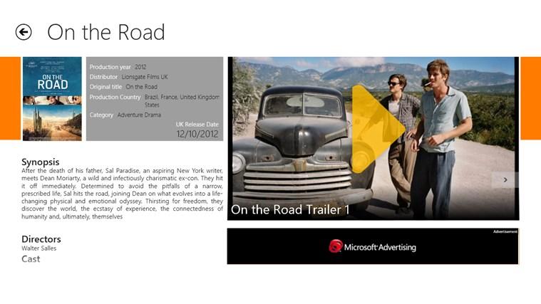 CineTrailer screen shot 3