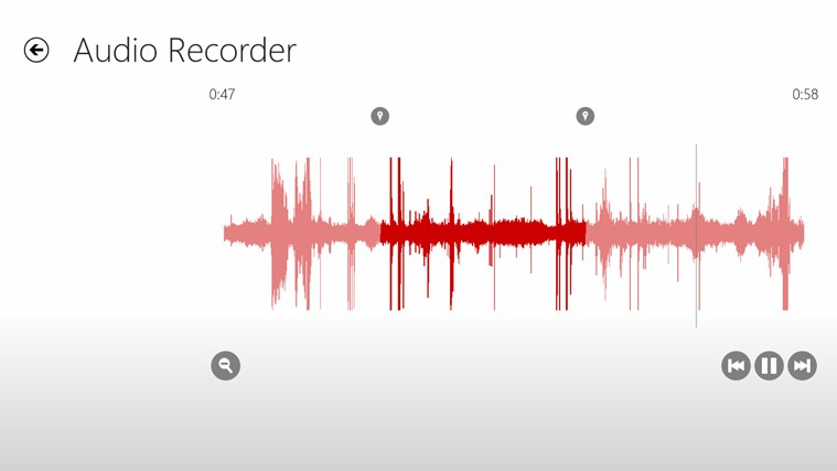 Audio Recorder screen shot 3