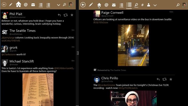 Tweetium screen shot 3