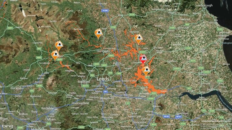 FloodAlerts screen shot 5