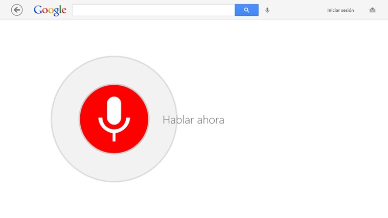 Google Search captura de pantalla 1