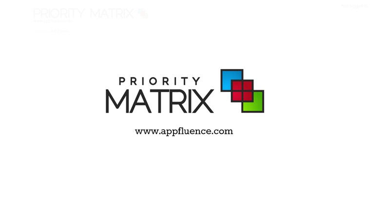 Priority Matrix screen shot 5