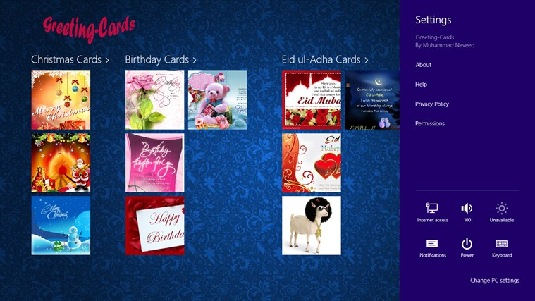Greeting-Cards screen shot 1