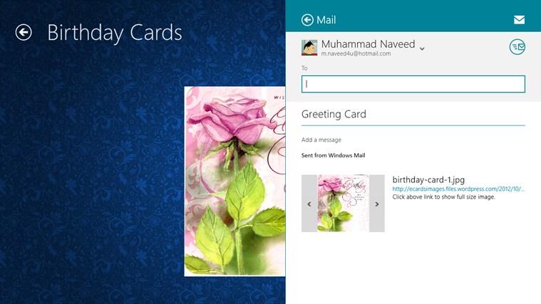 Greeting-Cards screen shot 3