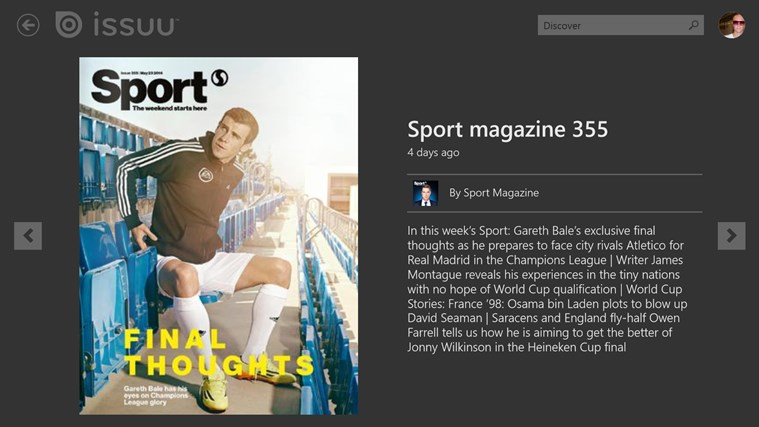 Issuu screen shot 7