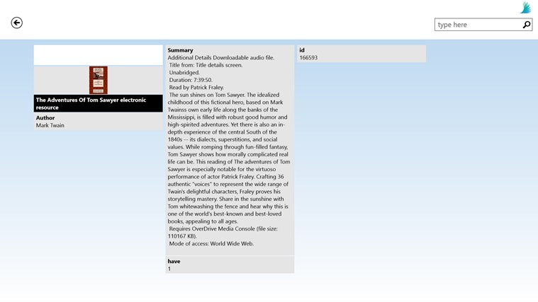 Darien Library screen shot 1