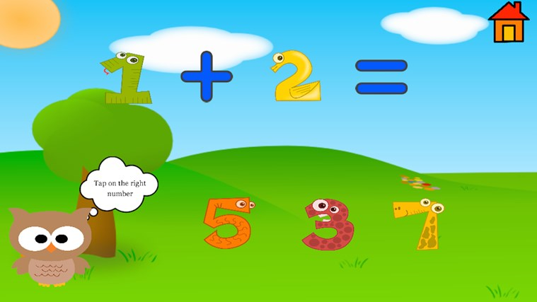 Kindergarten and Preschool learning game screen shot 1