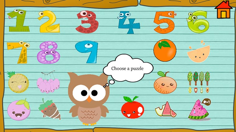 Kindergarten and Preschool learning game screen shot 3